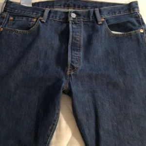 Levi's 501 button fly jeans. GREAT condition!